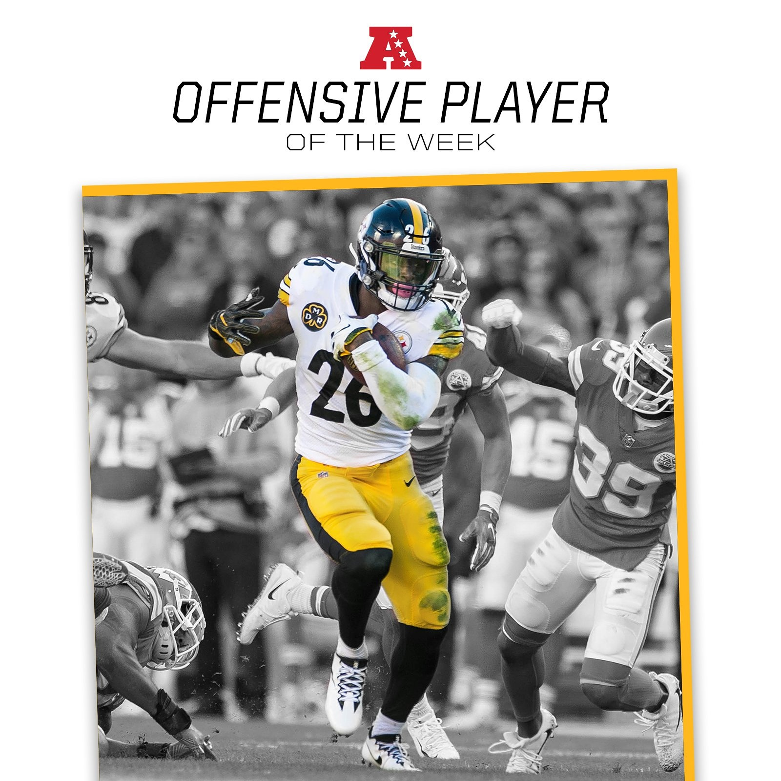 Bell Named AFC Offensive Player Of The Week